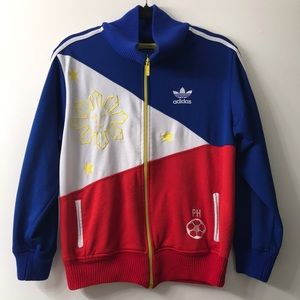 ADIDAS Philippines Flag Vintage Track Jacket. Size M. In Amazing Condition.